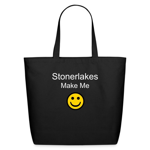Smiley Stonerlake carryall - Eco-Friendly Cotton Tote