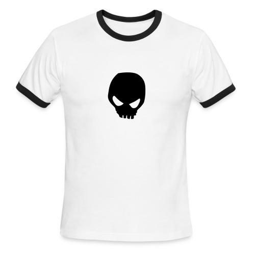Skull Heart Ringer Tee - Men's Ringer T-Shirt