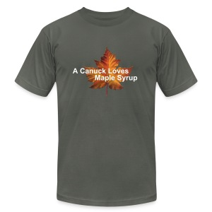Maple Leaf - Men's Fine Jersey T-Shirt