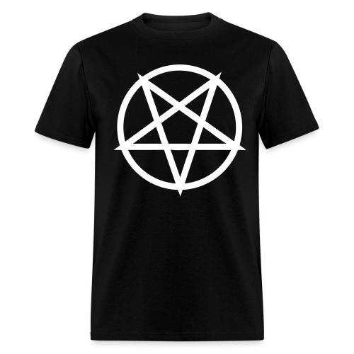 Hail Satan! C: - Men's T-Shirt