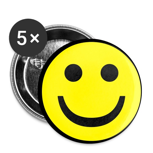 Small Smiley Button - Small Buttons