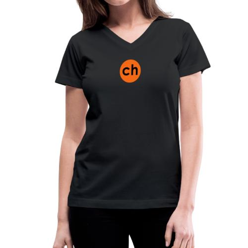 Dot - Women's V-Neck T-Shirt