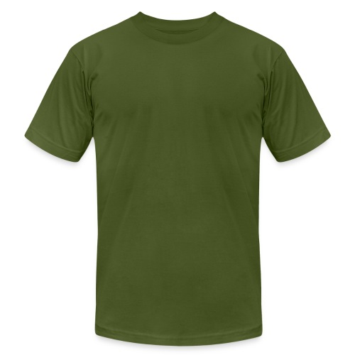 olive - Men's Fine Jersey T-Shirt