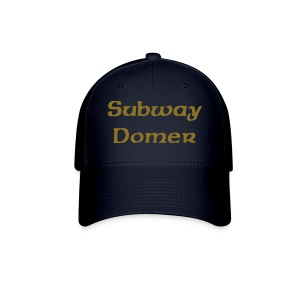 Subway Domer Fitted Hat Blue - Baseball Cap