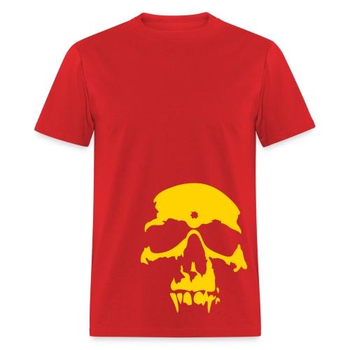 Hello Yellow Skull - Men's T-Shirt
