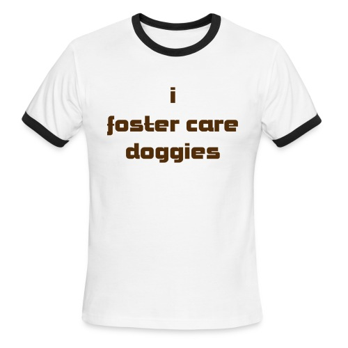 i foster care doggies  guy's ringer - Men's Ringer T-Shirt