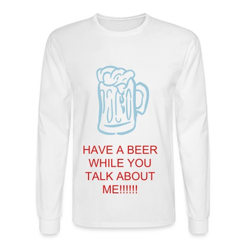 TALK DAT! - Men's Long Sleeve T-Shirt