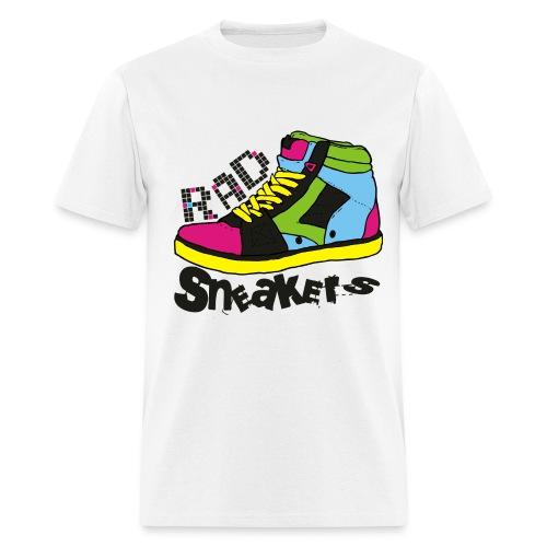 RAD Sneakers 80s Tee - Men's T-Shirt