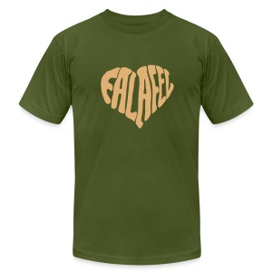 Falafel Love (AA brand) - Men's T-Shirt by American Apparel