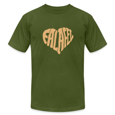 Olive Falafel Love Heart T-Shirts (Short sleeve)