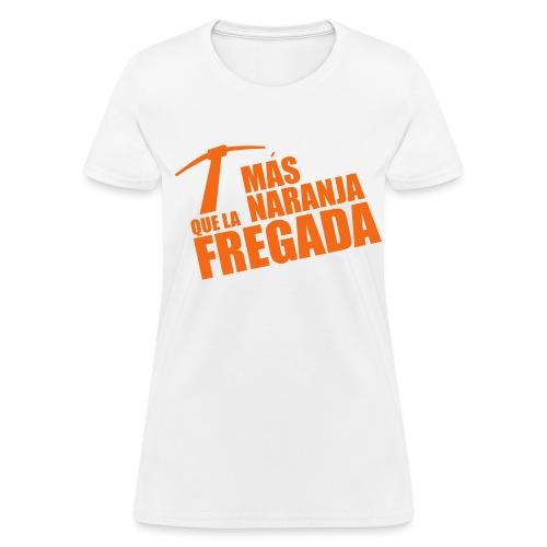 Más Naranja - Women's T-Shirt