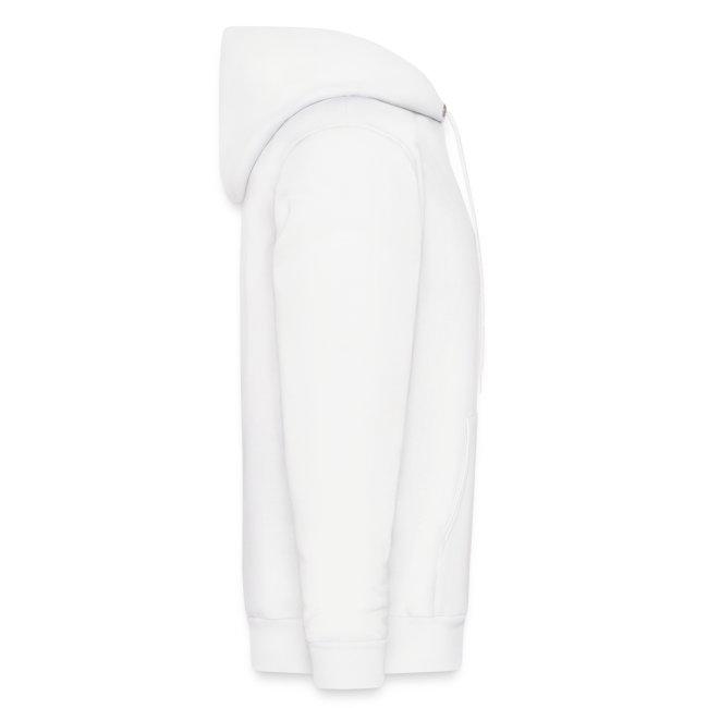"""Bench Pressus"" (White) - Hooded Sweatshirt"