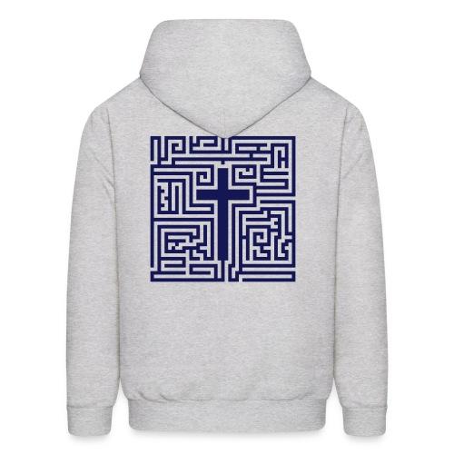 Cross Maze Hoodie - Men's Hoodie