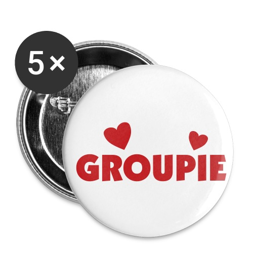GROUPIE - Buttons small 1'' (5-pack)