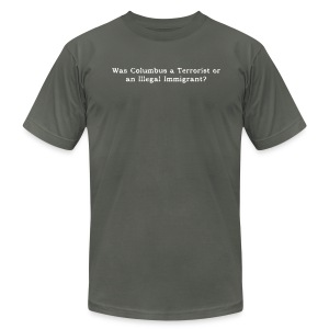 COLUMBUS - Men's Fine Jersey T-Shirt
