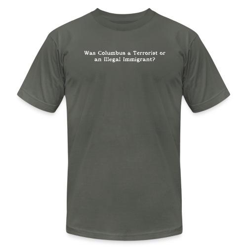 COLUMBUS - Men's Fine Jersey T-Shirt