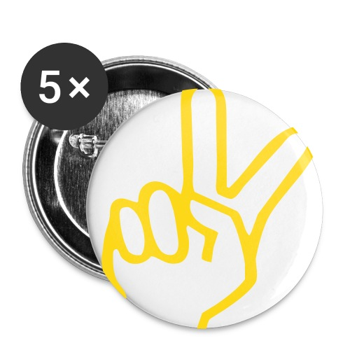Peace Pin. - Small Buttons