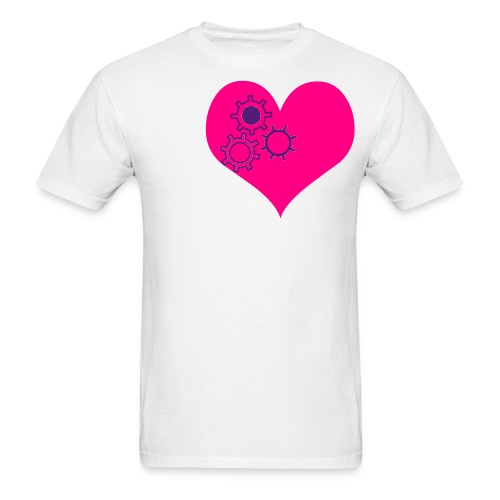 Love works - Men's T-Shirt