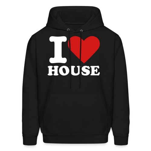 I Love House (Men) Sweater - Men's Hoodie