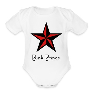 Punk One size - Short Sleeve Baby Bodysuit