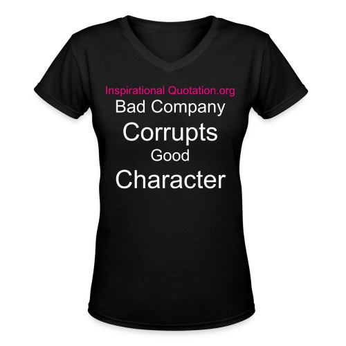 Company and Character - Women's V-Neck T-Shirt