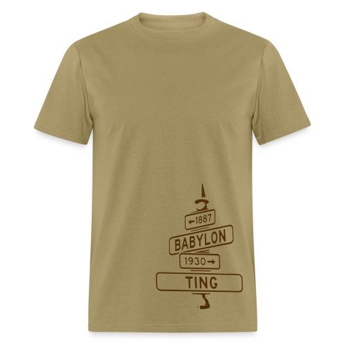 corner of babylon & ting men's t - Men's T-Shirt