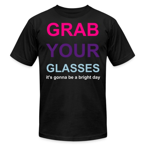 grab your glasses! - Men's  Jersey T-Shirt
