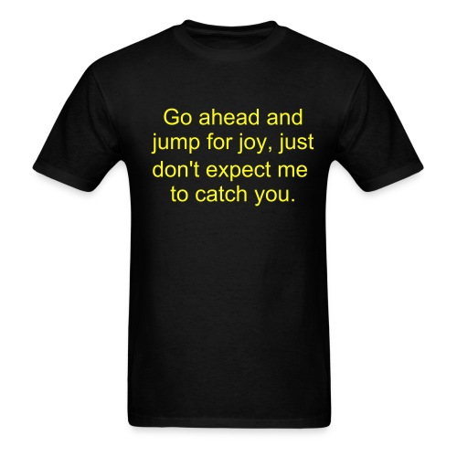 Joy-Jumping - Men's T-Shirt