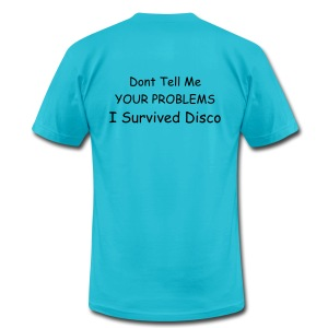I Survived Disco - Men's T-Shirt by American Apparel