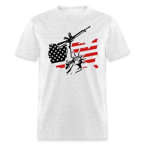 Combat Statue - Men's T-Shirt