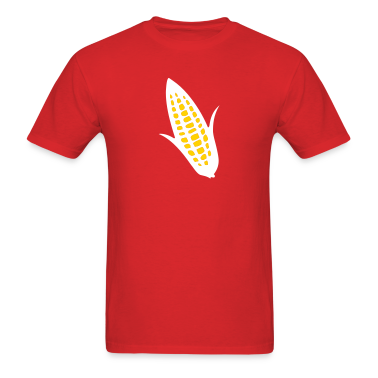 Red ear of corn T-Shirts (Short sleeve)