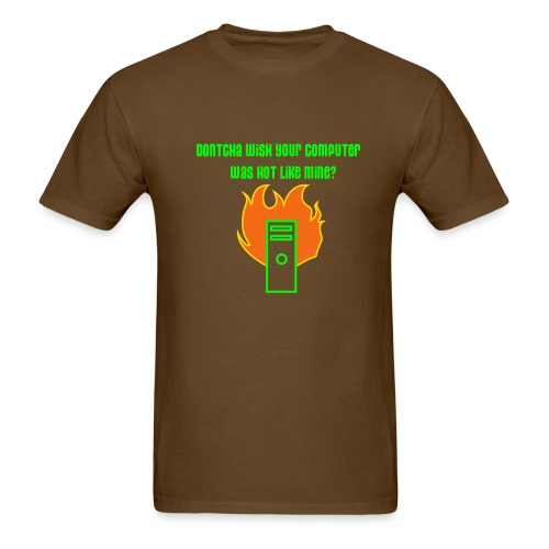 Computer Hot Like Mine - Men's T-Shirt