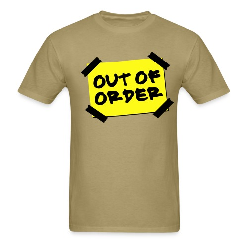 Out of Order - SpenceCo - Men's T-Shirt