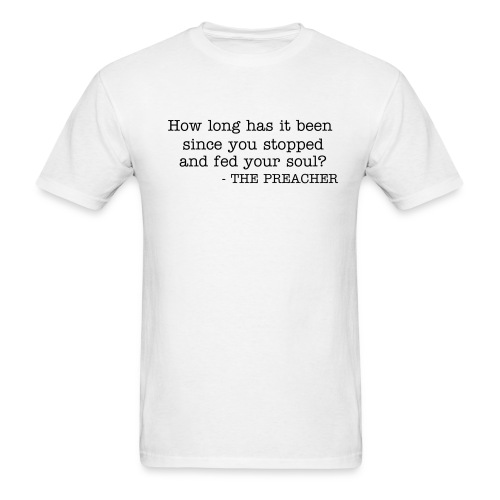 How long has it been... - Men's T-Shirt