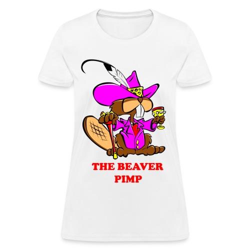 The Beaver Pimp (Women) - Women's T-Shirt