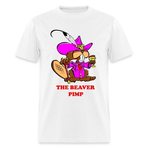 The Beaver Pimp (Men) - Men's T-Shirt