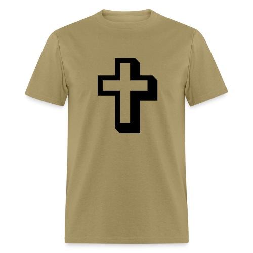Christian cross t-shirt - Men's T-Shirt