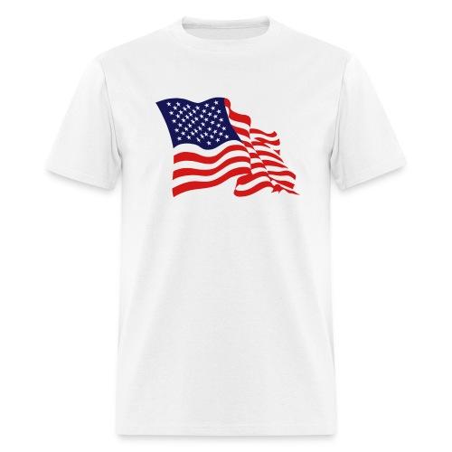American flag t-shirt - Men's T-Shirt