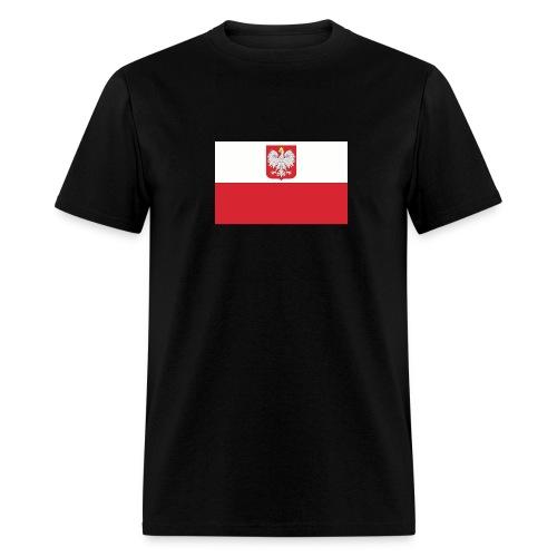 Polish flag t-shirt - Men's T-Shirt
