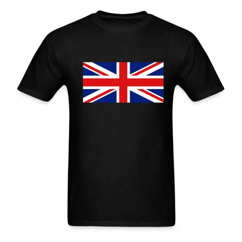 Britain Union Jack flag t-shirt - Men's T-Shirt