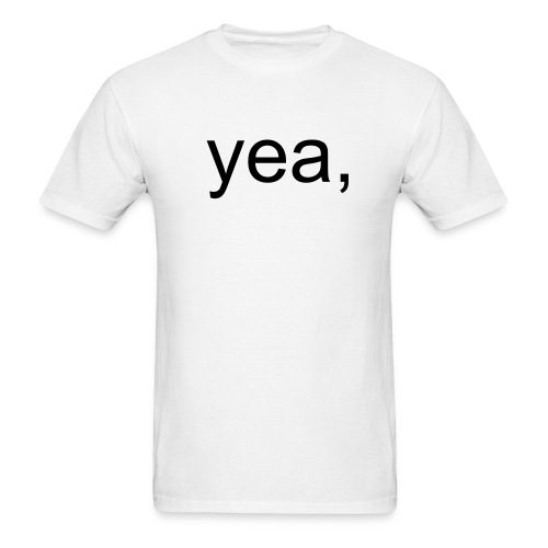 yea, with codes. - Men's T-Shirt