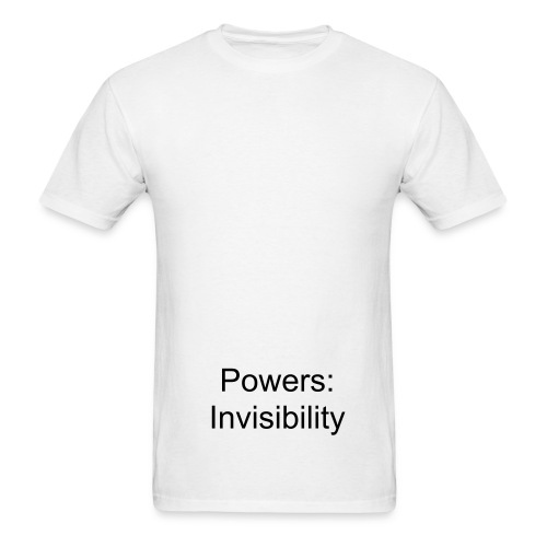 Powers Invisibility - Men's T-Shirt