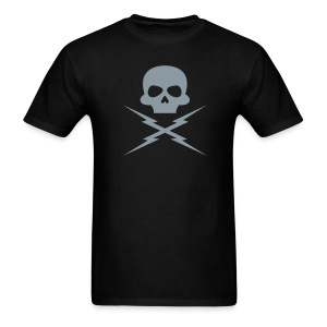 Metallic Silver - DEATH PROOF T-SHIRT - Men's T-Shirt