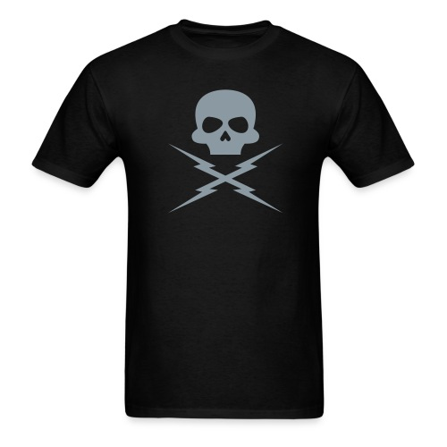 Metallic Silver - DEATH PROOF T-SHIRT - Men's T-Shirt