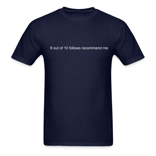 9 out of 10 (for a lead) - Men's T-Shirt