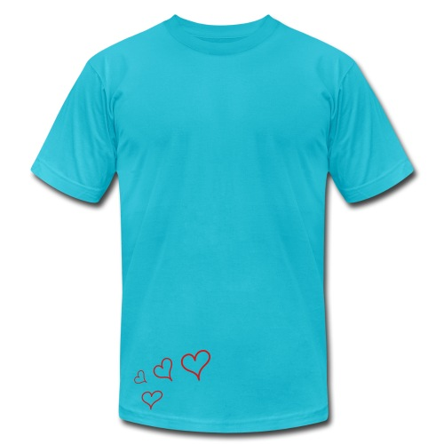 Hearts  - Men's Fine Jersey T-Shirt