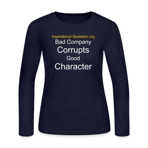 Company and Character - Women's Long Sleeve Jersey T-Shirt