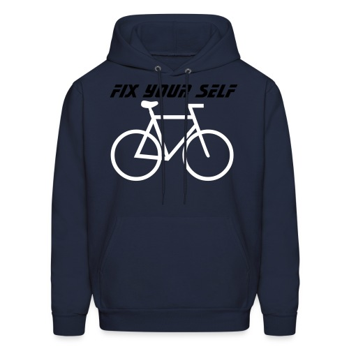 fix your self - Men's Hoodie