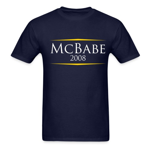 McBabe 2008 - Men's T-Shirt