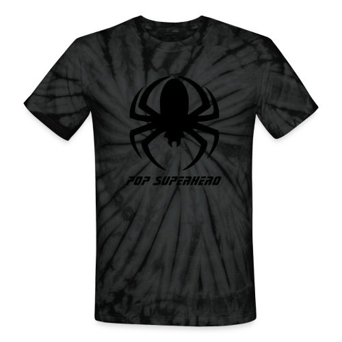 Spiderman Symbol on Tie Die Shirt Rock Superhero - Unisex Tie Dye T-Shirt